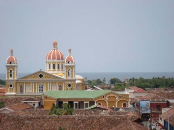 A view of La Catedral from the bell tower of Iglesia La Merced