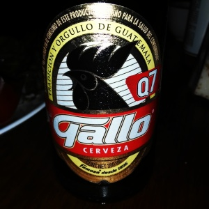 The Guatemala national beer... Gallo