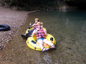 Cave tubing with Cave Tubing Belize!
